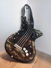 Vintage Guitar Shape Camouflage Bag For The Music Lover