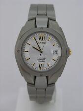Seiko analog perpetual calendar titanium SLL151