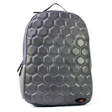 Urban Junk - Hex Grey 3rd Dimension Embossed Rucksack/Backpack