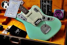 ☆ Minty ☆ FENDER USA Custom 1962 NOS Jaguar Shop ☆ SURF GREEN + in palissandro ☆ 2012 ☆