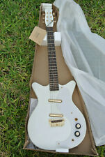 NEW IN BOX! 2009 DANELECTRO DC59 WHITE GOLD 50th ANNIVERSARY ELECTRIC GUITAR!!!