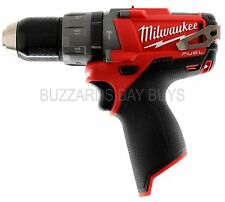 NEW Milwaukee FUEL M12 Brushless HAMMER Drill 2404-20 Bare Tool - FREE US SHIP!
