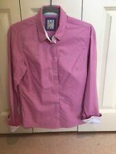 Women's Crew Clothing Pink Shirt Size 12