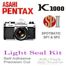 Pentax K1000, SP & SPII ~ Precision New Cut Light Seal Kit ~ 3 Cameras Worth!