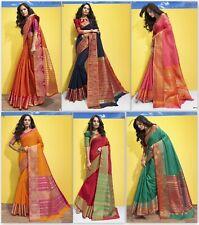 Bollywood Stylish Saree Party Wear Indian Pakistani Wedding New Designer Sari TR