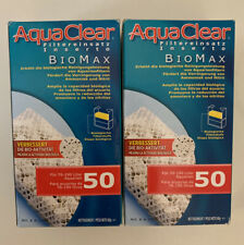 Aquaclear A1372 50-Gallon Biomax,White Open Box,Never Used 2 packs