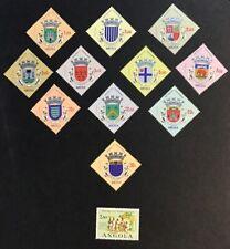 Angola 1963 VF MH Partial Set Catalogs $18
