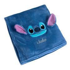 """Disney Fleece Throw 2017 Stitch Blanket for Kids (50"""" X 60"""")"""