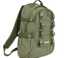 SUPREME BACKPACK OLIVE OS FW20 (IN HAND) BRAND NEW, 100% AUTHENTIC. FAST SHIP
