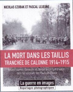 La Mort dans les taillis, Alain-Fournier, Genevois et Jünger tranchée de Calonne