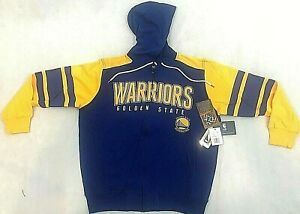 NBA GOLDEN STATE WARRIORS BASKETBALL HOODIE JACKET GIII SPORTS BY CARL BANKS XL