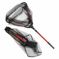 US BPortable Telescopic Fishing Net 31'' Aluminum Alloy Foldable Landing Net
