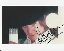 Malcolm McDowell - Clockwork Orange signed photo