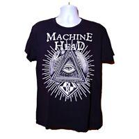Machine Head Ouroboros - Snake Eating Tail - All Seeing Eye T-Shirt Large rare
