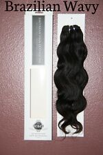 "2 packs 18"" TRUE VIRGIN Remy Human Hair Extensions Brazilian Wavy"