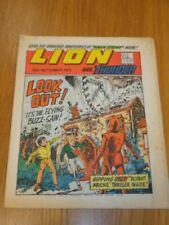 LION & THUNDER 29TH SEPTEMBER 1973 BRITISH WEEKLY COMIC FLEETWAY^