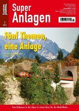 Eisenbahn Journal - Fünf Themen, eine Anlage Super Anlagen 1-2015