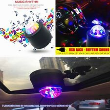 6W Six Colors Colorful Car Music Rhythm 6LED Flash Light Lamp Sound DJ Activated