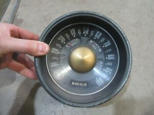 1951 Ford Custom sedan interior speedometer gauge cluster housing hot rod parts