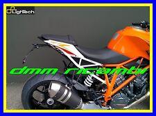 Portatarga LighTech KTM 1290 SUPER DUKE supporto targa regolabile luce omologato