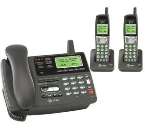 AT&T E5828B Business Phone System with 2 Handsets