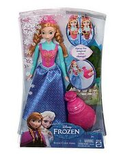 Disney FROZEN ANNA COLOR CHANGE DOLL Figure Accessories Perfume Bottle NEW!!