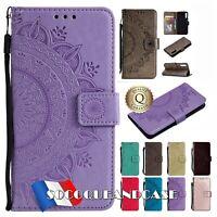 Etui folio Coque housse SOLEIL PU Leather Case GALAXY A50 A20e A20 A30 A40 A70..