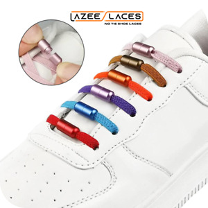 Lazee Laces™ Vibrant Twist To Lock Capsule No Tie Shoelaces For Adults and Kids