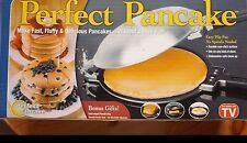 Perfect Pancake Maker Hinged Pan As Seen On TV Teflon Coating