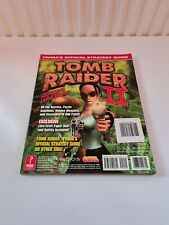 Prima's Official Strategy Guide Tomb Raider I 1 & II 2 Rare Edition With Inserts