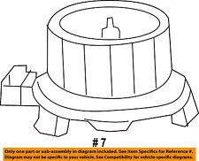 Jeep CHRYSLER OEM 2017 Wrangler Evaporator Heater-Blower Motor 68232369AA