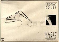 10/4/1982Pg37 Single Advert 7x10 Thomas Dobly, Radio Silence