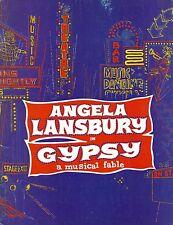 """Angela Lansbury """"GYPSY"""" Stephen Sondheim / Jule Styne 1973 London Program"""