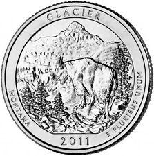 2011 America The Beautiful ATB Silver 5 oz. Glacier NP