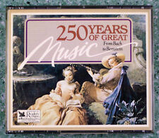 250 YEARS OF GREAT MUSIC READER'S DIGEST MUSIC 4 CD SET