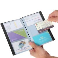Top Business ID Credit Card Name Organizer Holder 120 Cards Case Keeper Books