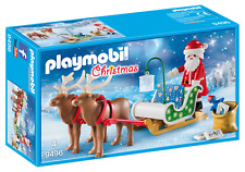 Playmobil Christmas 9496 - Santa Sleigh Reindeer NEW