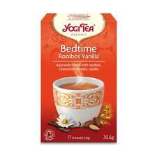 💚 Yogi Tea Biologico della buonanotte Rooibos Vaniglia una tisana 17 Sacchetti