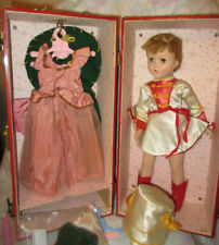 """Vintage 17"""" Hp Arranbee Nancy in Case w 3 Outfits - Majorette, Cowgirl, Gown"""