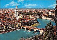 BG13577 panorama con ponte pietra  verona   italy