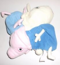 Peppa Pig Plush Reversible George to Rebecca Rabbit Soft Toy 2 in 1