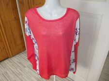 George Long Sleeve None Floral Jumpers & Cardigans for Women