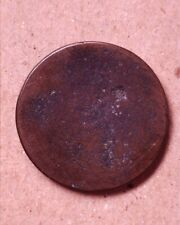 Strange Engraved Colonial Coin - Must Be Seen!