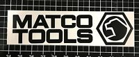 "Matco Tools Black Decal Sticker 5.5"" 7.5"" 11"" Ratchet Wrench Socket Screwdriver"
