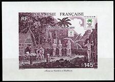 Polynésie 1988 Bloc 14 SYDPEX 88 Exposition Philatélique Sydney  Non Dentelé