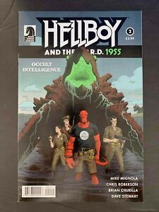 HELLBOY AND  THE  B.P.R.D 1995 OCCULT INTELLIGENCE #2  DARK HORSE COMICS 2017 VF