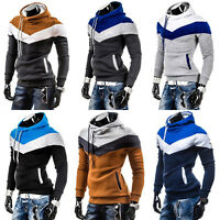 Herren Kapuzenpullover Hoodie Kapuzen Pulli Slim Fit Sweatshirt Hooded Sweater