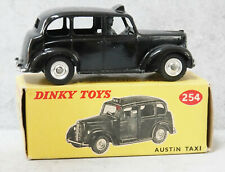 Dinky 254 Austin FX3 Taxi Black Grey Interior & Chassis Near Mint Boxed