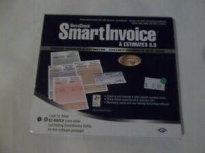 NEW CD Versa Check Smart Invoice & Estimates 8.0