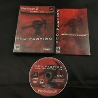 Red Faction Greatest Hits (Sony PlayStation 2, 2002) CIB